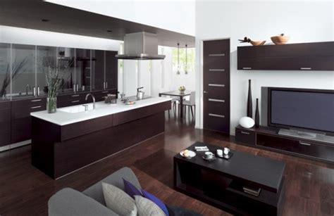 arredare cucina  soggiorno  open space che unisce