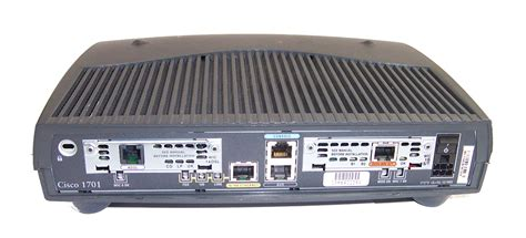 Cisco Router 1700 Series Cisco 1701 1700 Series Version 12 3 4 T7 Adsl Router No Ac Adapter Ebay