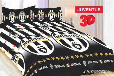 Selimut Juventus sprei bonita sprei dan selimut motif bola