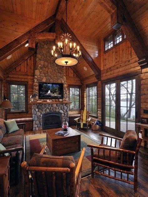 favourite log cabin interior design ideas