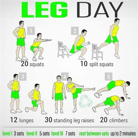 25 best ideas about leg workout at home on