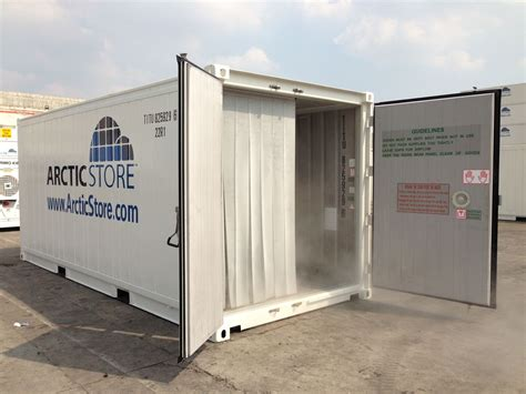 freezer storage containers portable cold stores storage refrigerated containers hire