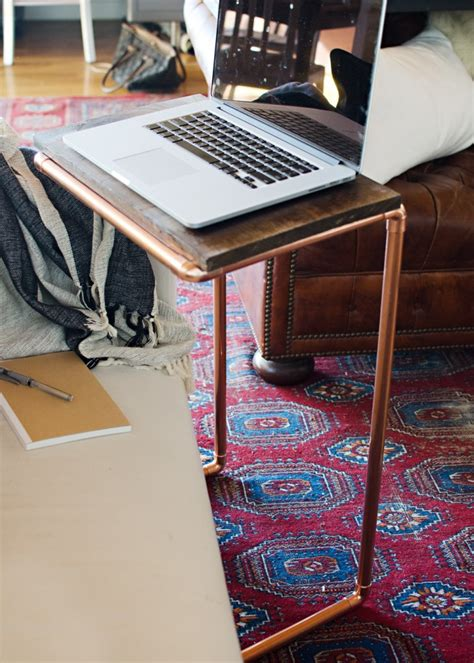 Make A Table For Your Diy Copper Laptop Table House Of Jade Interiors