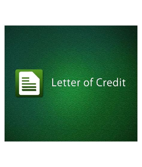 Letter Of Credit Course Letter Of Credit Certified Course By Educba Material Technical