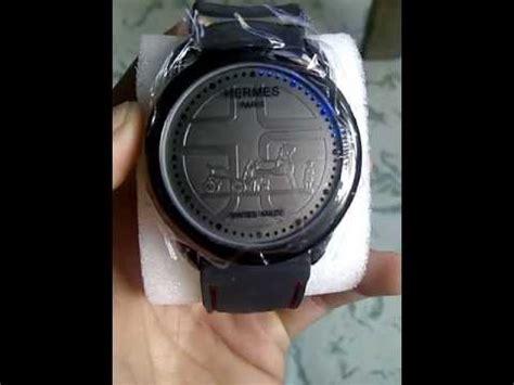 cara mensetting jam tangan hermes touch screen
