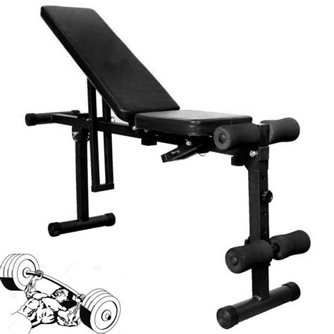 folding weight bench with weight set fully adjustable folding gym weight bench flat incline
