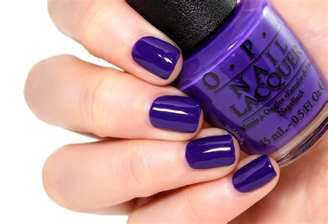 opi purple colors nordic collection by opi nailderella