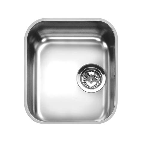 smeg kitchen sink smeg um34 undermounted kitchen sink single bowl brushed