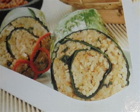 resep membuat nasi bakar oncom resep nasi bakar oncom resep masakan indonesia