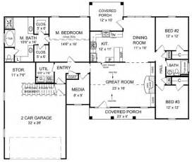 1800 Square Foot Floor Plans by 1800 Sq Ft House Plan The Shadow Lane 18 006 285