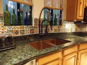 dusty coyote mexican tile kitchen backsplash diy mexican decoration ideas for kitchen home and cabinet