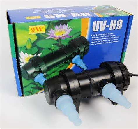 Lu Aquarium Jebo 10 Watt jebo 9w wattage uv sterilizer l light ultraviolet