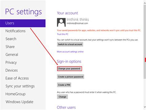 reset windows password microsoft account how to reset microsoft account password in windows 8