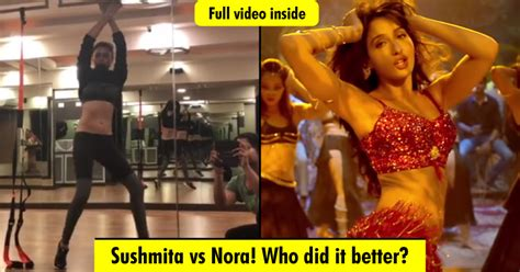 sushmita sen belly dance sushmita sen s belly dance on new dilbar song is breathtaking