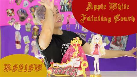apple white fainting uk apple white s fainting sill 243 n de desmayos playset