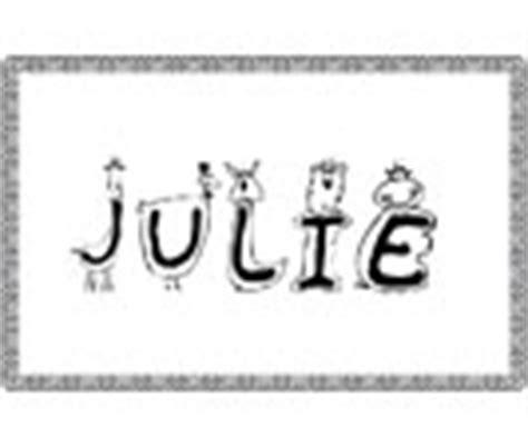 école De Julie Lettre G Julie Origine Du Pr 233 Nom Julie Sur T 234 Te 224 Modeler