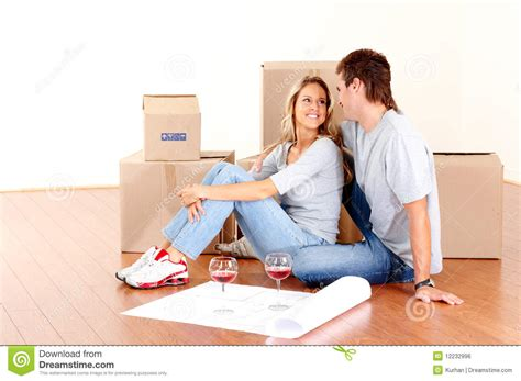 Move Your On The Floor by Moving Royalty Free Stock Image Image 12232996