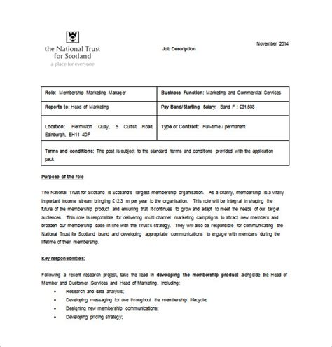job description template word beepmunk