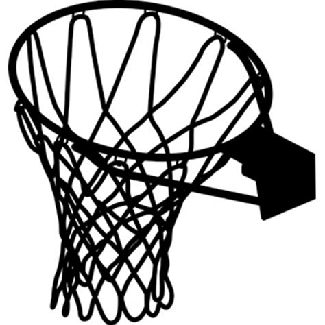 basketball net clipart basketball hoop clipart black and white free