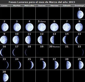Calendario De Lunas 2015 Calendario Lunar 2015 13373 Notefolio