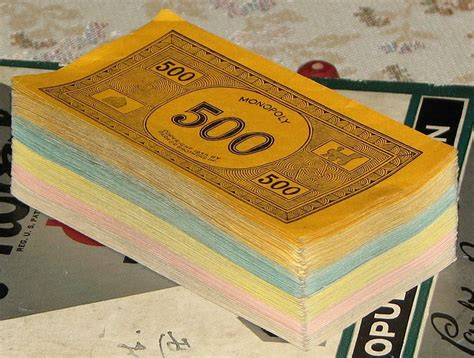 How To Find Rich To Give You Money Monopoly Money 171 The Lint Screen