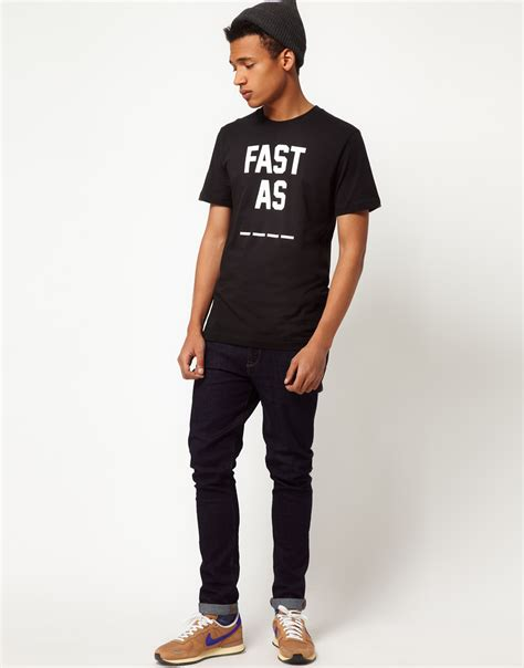 T Shirt Fast As Nike C94 Product nike t shirt with mesh pocket in black 776675 010 in black