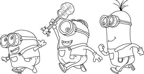 Minion Minions Coloring Page 135 Wecoloringpage 57 Minion Top 25 39despicable 239 Coloring Pages