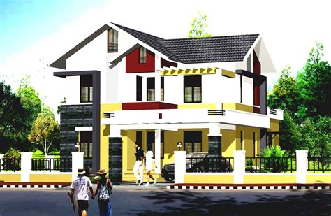 house color and design 3d modern exterior house designs design a house