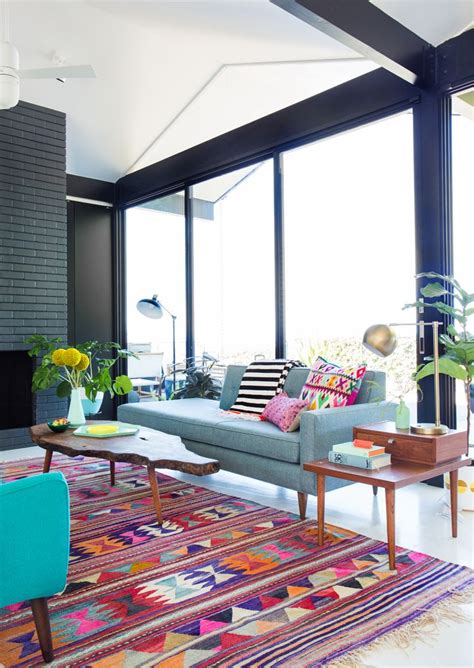 colorful rugs for living room 25 best ideas about colourful living room on pinterest