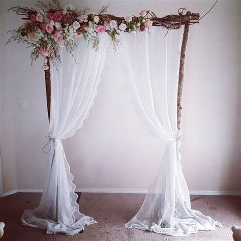 25 best ideas about wedding arches on