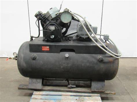 magnolia electric motors b35 7 1 2hp air compressor 120 gallon 208 230 460v 3ph bullseye