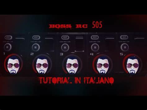 beatbox looping tutorial boss rc 505 loop station tutorial italiano 1 youtube