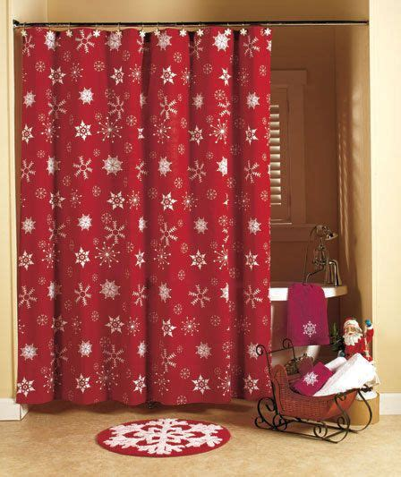christmas bathroom curtains 1000 ideas about christmas shower curtains on pinterest