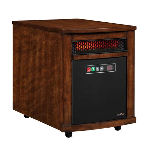 duraflame 5200 btu infrared cabinet electric space heater shop duraflame 5 200 btu infared cabinet electric space