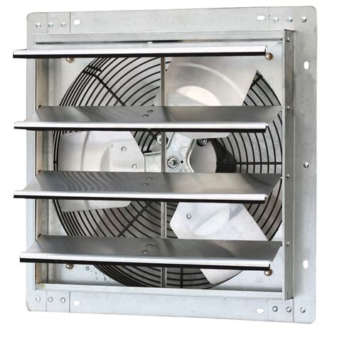 shutter exhaust fans wall mount iliving ilg8sf16v 16 inch variable speed shutter exhaust