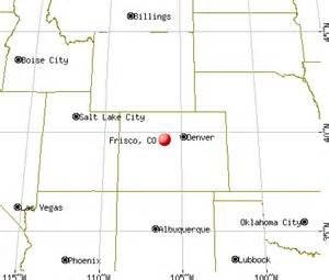 map of frisco colorado frisco colorado co 80443 profile population maps