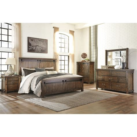 signature bedroom furniture signature design by ashley lakeleigh queen bedroom group