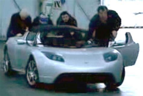 Clarkson Tesla Clarkson Sparks New Row Top Gear Electric