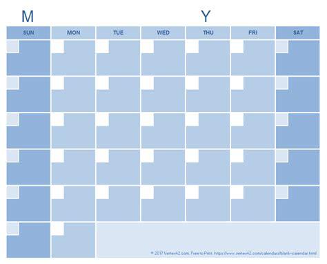 cool calendar templates blank calendar template free printable blank calendars