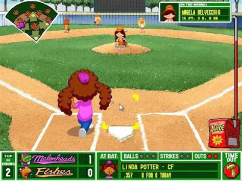 backyard baseball pc gameplay 7 melonheads