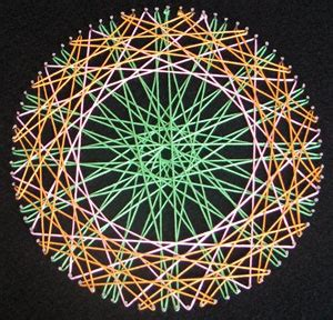 String Circle Pattern - 35 diy string patterns guide patterns