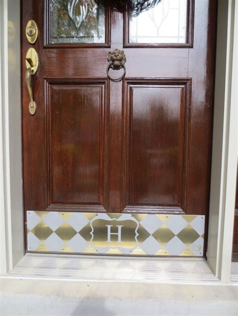Kick Plates For Front Doors 43 Best Kick Plates Images On Kick Plate Curb Appeal And Dinner Plates