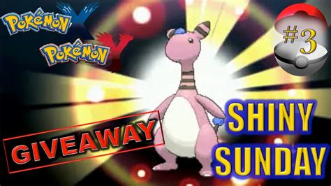 Pokemon Gts Giveaway - pokemon x y shiny ampharos found on gts giveaway live youtube