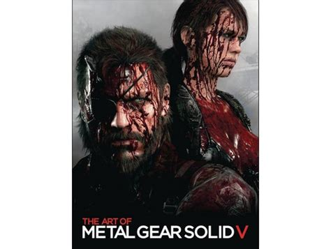 metal gear solid the art of 41071219 libros art of metal gear solid v ltd ed zmart cl