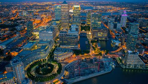 Modern Architecture by Som Canary Wharf Master Plan
