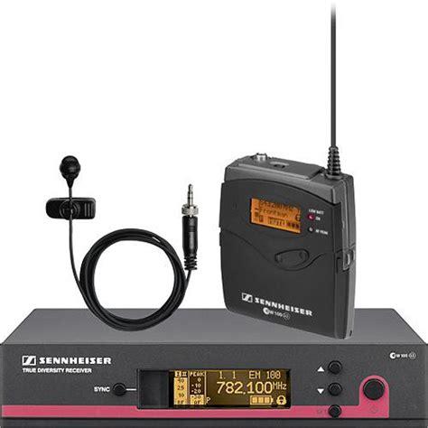 Mic Wireless Senheiser Ew 122 G2 Clip On sennheiser ew 122 g3 wireless bodypack microphone ew122g3 a b h
