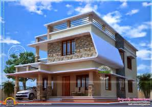 Nice House Plans by Nice Modern House With Free Floor Plan Home Kerala Plans