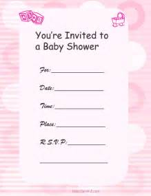 baby shower invitation templates for free baby shower invitation templates free