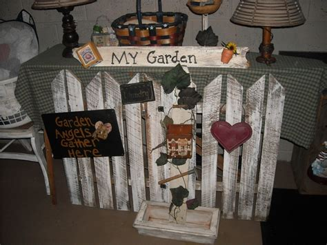 Handmade Garden Decor - handmade primitive garden decor primitive