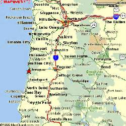 map of western oregon welcome to florence oregon area maps